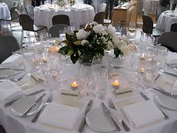 table wedding centerpieces with candles decor and design rustic
