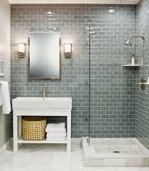 subway tile in bathroom ideas the 25 best glass tile bathroom ideas on subway tile