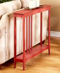 Hallway Accent Table Slim Space Saver Accent Table Wooden Narrow Hallway Entry Sofa