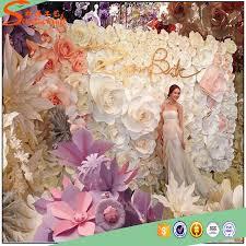 fleur artificielle mariage fleur artificielle pour la décoration murale papier mur de fleur