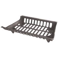 uniflame 24 inch cast iron fireplace grate walmart com