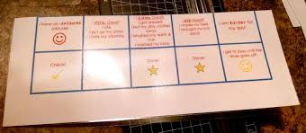 How To Put A Box Together Morning Routine Visual Schedule Board With Free Printable