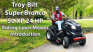 Troy Bilt Super Bronco Riding Lawn Mower Manual Best Riding 2017