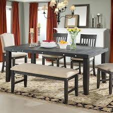 wood extendable farmhouse dining table u2014 farmhouse design and