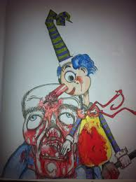 squiggle evil stolen art deviantart