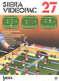 electronic table football game magnavox odyssey 2 covers siera europe game covers box scans box art