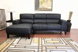 leather contemporary l shaped sofa sectional w high back