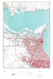 Map Of Corpus Christi Mytopo Corpus Christi Texas Usgs Quad Topo Map
