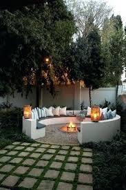 Backyard Cement Patio Ideas Small Backyard Concrete Patio Designs I Like The Idea Of Rounded