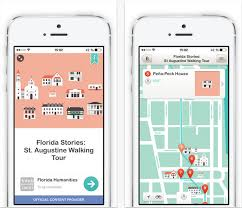 Walking Map App Florida Nonprofit Develops App For Tours Of Cities Across State