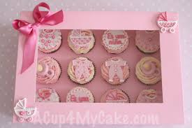 baby shower cupcakes for girl baby shower cupcakes box it s a girl my sweet baking
