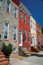 baltimore u0027s varied row houses old house restoration products