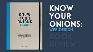 ladaire design your onions web design book review