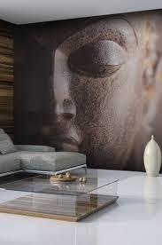 chambre bouddha spécialiste français papier peint statue de bouddha salon