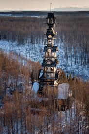 In House Meaning by Dr Seuss Log Cabin Tower House In Alaska Is Massive Insidehook