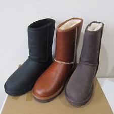 s ugg australia leather boots ugg australia s leather boots water resistant
