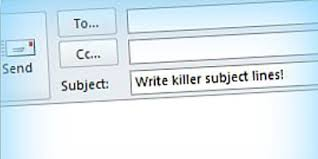 Subject For Sending Resume For Job by How To Write A Killer Email Subject Line