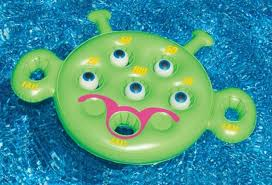 Target Halloween Inflatables by Water Sports Inflatable Alien Eye Ball Toss Target Swimming Pool
