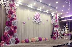 wedding backdrop flowers 20pcs 30cm custom made foam paper flower for wedding party