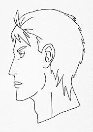 how to make a side face sketch how to draw a u0027s face side view