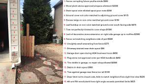 hilarious hoa stories xpost r funny hoa cites homeowner for trash cans visible from