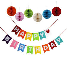 aliexpress buy new birthday decorations colorful