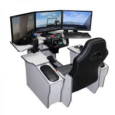 Gaming Station Desk Gamecab Flight Ideal Seat Desk For Flight Simulations Space