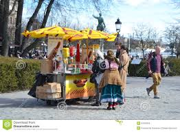 Portland Food Cart Map by Street Food Cart Editorial Photo Image 37625966