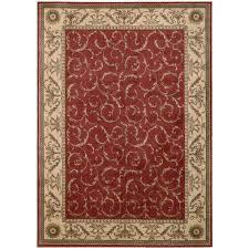 Wayfair Outdoor Rugs Coffee Tables Nourison Somerset Red Gold Area Rug U0026 Reviews