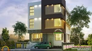 Contemporary Home Designs For Kerala Three Storied Contemporary Home Kerala Home Design Bloglovin U0027