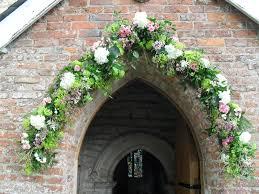 wedding flower arches uk church arch