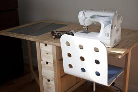 Corner Sewing Table by 25 Ways To Use Ikea Norden Gateleg Table In Décor Digsdigs