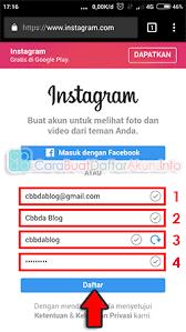 buat akun google facebook buat akun instagram lewat google di hp daftar instagram via web