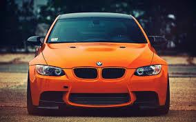 car bmw bmw m3 orange car