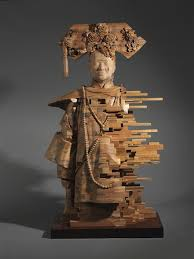 contemporary wood sculpture artists wood sculptures by hsu tung han seem like pixelations