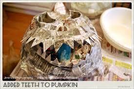 how to make paper mache pumpkins u0026 more nikitaland