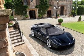 ferrari 488 convertible open top ferrari 488 gts rendered
