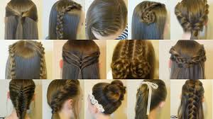 easy hairstyles for school trip 14 easy hairstyles for school compilation 2 weeks of heatless hair