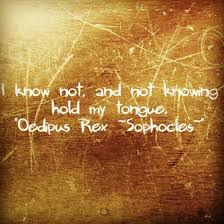 Oedipus Blinds Himself Quote Oedipus Rex By Sophocles Lightrature Pinterest Words Worth
