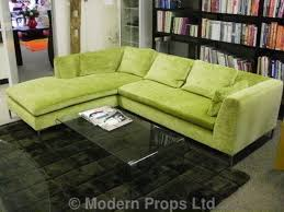 lime green l shade modern props