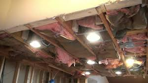 installing can lights in ceiling how to wire recessed lights in kitchen youtube