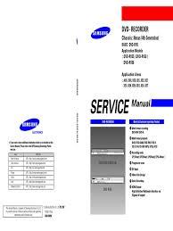 samsung dvd r155 156 pdf electrostatic discharge electrical