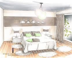 chambre en perspective plan de chambre avec dressing et salle de bain 3 chambre en