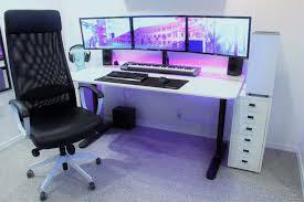 Gaming Desk Pad Ergonomically Correct Desk Gaming Computer Desk For