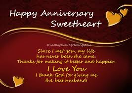 Happy Anniversary Best Wishes Messages Anniversary Wishes For Husband 365greetings Com