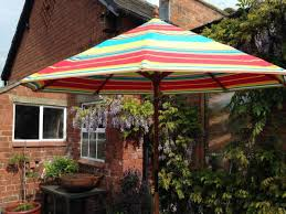 Offset Patio Umbrella Clearance by Colorful Striped Patio Umbrellas Patio Outdoor Decoration