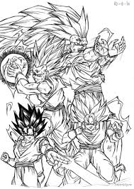 dbz gt free coloring pages on art coloring pages