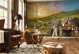 brewster home fashions komar mountain morning 145 x 100 default name