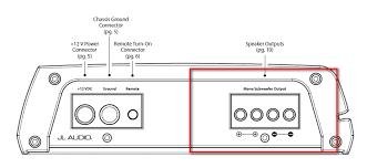 jl audio 250 1 wiring diagram jl wiring diagrams collection