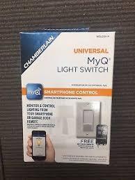 chamberlain wslcev remote light switch chamberlain wslcev myq light switch control ebay